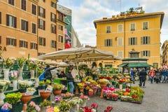 Quadrato di Fiori di dei del campo, Roma, Italia Fotografia Stock Libera da Diritti