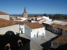 Quadrato di Galisteo Fotografie Stock