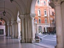 Quadrato di Gianbattista Vico Fotografie Stock