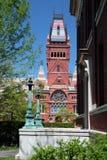 Quadrato di Harvard, Cambridge Immagine Stock Libera da Diritti