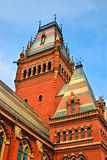 Quadrato di Harvard, S.U.A. Fotografia Stock