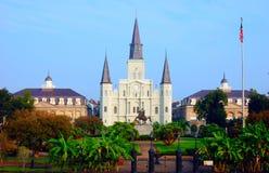 Quadrato di Jackson, New Orleans. Fotografia Stock