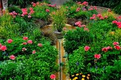 Quadrato di Kennett, PA: Giardini di Longwood immagini stock