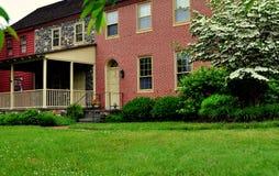 Quadrato di Kennett, PA: 1828 i terreni boscosi fotografia stock