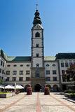Quadrato di Klagenfurt fotografia stock