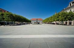 Quadrato di Klagenfurt fotografie stock