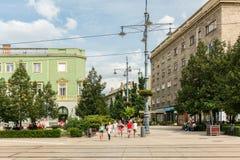 Quadrato di Kossuth Ter Fotografia Stock