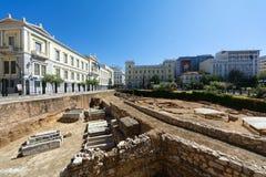 Quadrato di Kotzia a Atene centrale, Grecia Immagine Stock Libera da Diritti