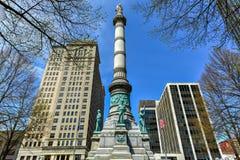 Quadrato di Lafayette - Buffalo, New York immagini stock libere da diritti