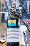 Quadrato di Maidan Nezalezhnosti a Kiev dopo il revoluti Fotografie Stock Libere da Diritti
