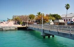 Quadrato di Mallory (2), Key West Florida Immagini Stock Libere da Diritti
