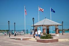 Quadrato di Mallory, Key West Florida Fotografie Stock Libere da Diritti