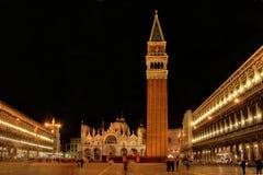 Quadrato di marco del San, Venezia Immagine Stock