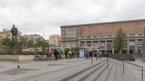 Quadrato di Mayakovsky a Mosca Fotografia Stock Libera da Diritti