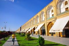 QUADRATO DI NAQSH-E JAHAN, ISPAHAN, IRAN Immagini Stock Libere da Diritti