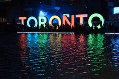 Quadrato di Nathan Phillip a Toronto Immagine Stock