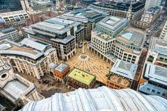 Quadrato di Padrenostro, Londra. immagine stock