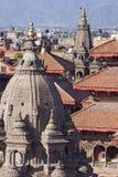 Quadrato di Patan Durbar nel Nepal Immagine Stock