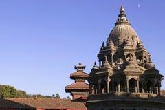 Quadrato di Patan Durbar nel Nepal Fotografie Stock Libere da Diritti