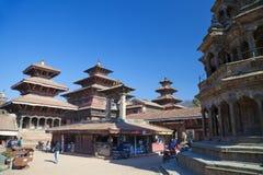 Quadrato di Patan Durbar, Nepal Fotografie Stock Libere da Diritti