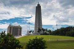 Quadrato di rivoluzione a Avana, Cuba Immagini Stock Libere da Diritti