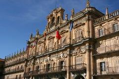 Quadrato di Salamanca Fotografia Stock Libera da Diritti