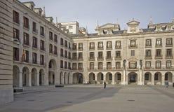 Quadrato di Santander, Spagna fotografia stock