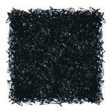 Quadrato di scarabocchio illustrazione di stock