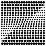 Quadrato di semitono degli elementi di progettazione illustrazione di stock