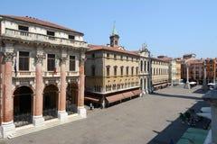 Quadrato di Signori della piazza a Vicenza Fotografia Stock Libera da Diritti