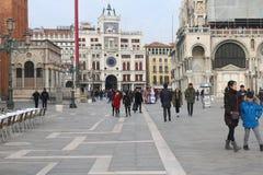 Quadrato di St Mark Venezia Fotografia Stock Libera da Diritti