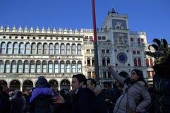 Quadrato di St Mark Venezia fotografia stock