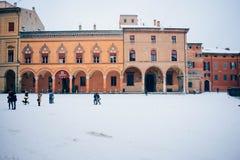 quadrato di Stefano di santo di Bologna Italia immagine stock libera da diritti