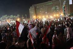 Quadrato di Tahrir Immagine Stock