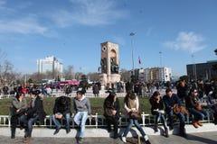 Quadrato di Taksim Immagini Stock Libere da Diritti