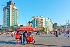 Quadrato di Taksim a Costantinopoli Immagine Stock Libera da Diritti