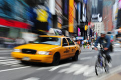 Quadrato di tempo in Manhattan New York Fotografie Stock