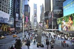 Quadrato di tempo a New York City Fotografia Stock Libera da Diritti