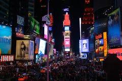 Quadrato di tempo, New York City Immagine Stock