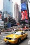 Quadrato di tempo in NYC Fotografia Stock Libera da Diritti