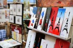 Quadrato di Tertre parigi Fotografie Stock