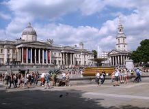 Quadrato di Trafalgar Immagini Stock Libere da Diritti