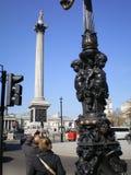 Quadrato di Trafalgar immagine stock