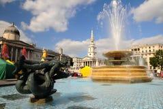 Quadrato di Trafalgar - di Londra Fotografia Stock