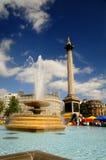 Quadrato di Trafalgar - di Londra Immagine Stock Libera da Diritti