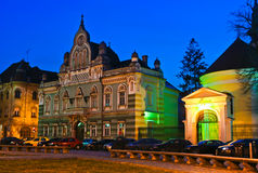 Quadrato di Unirii in Timisoara fotografie stock