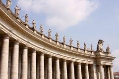 Quadrato di Vatican Fotografia Stock Libera da Diritti