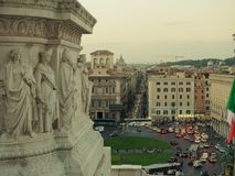 Quadrato di Venezia da sopra Fotografia Stock
