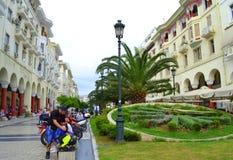 Quadrato Grecia di Salonicco Fotografia Stock