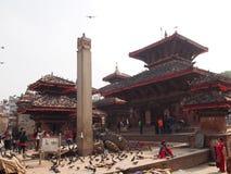 Quadrato Kathmandu di Durbar Fotografia Stock Libera da Diritti